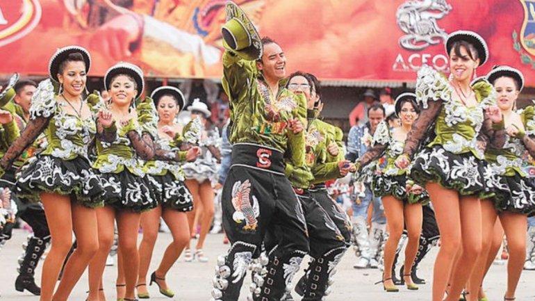 Tarian Tradisional Masyarakat  Amerika Selatan